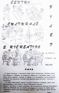1974        Centro Culturale e Ricreazione